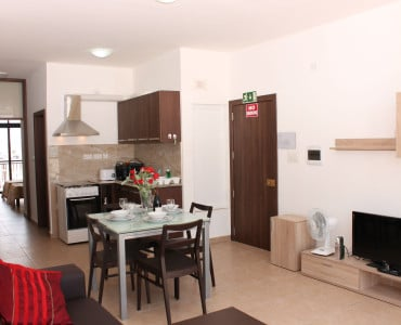 Well equipped Kitchen 32 inch IPTV and WiFi in all the apartment Sea view Holiday penthouse