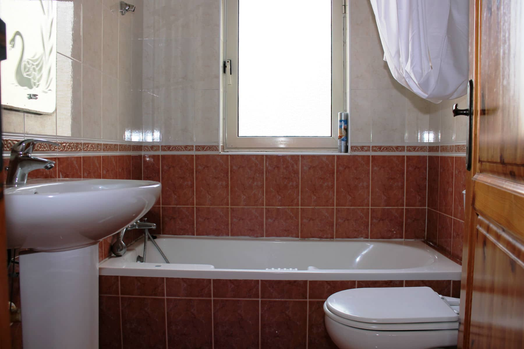 Bath with WC Big apartment in St Julian`s close to Paceville nightlife St Julian`s close to Paceville nightlife