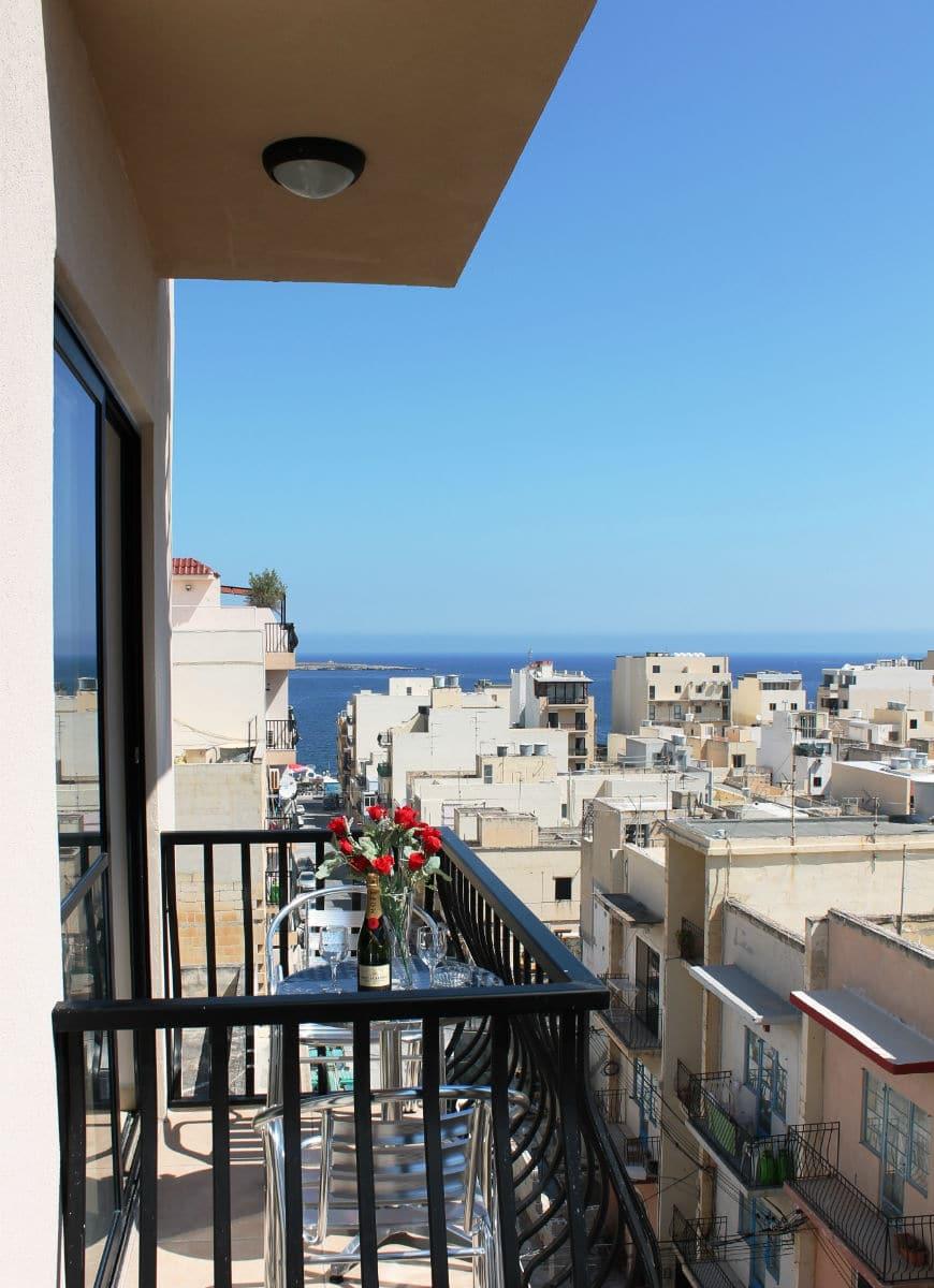 Seashells Holiday Apartments Bugibba view