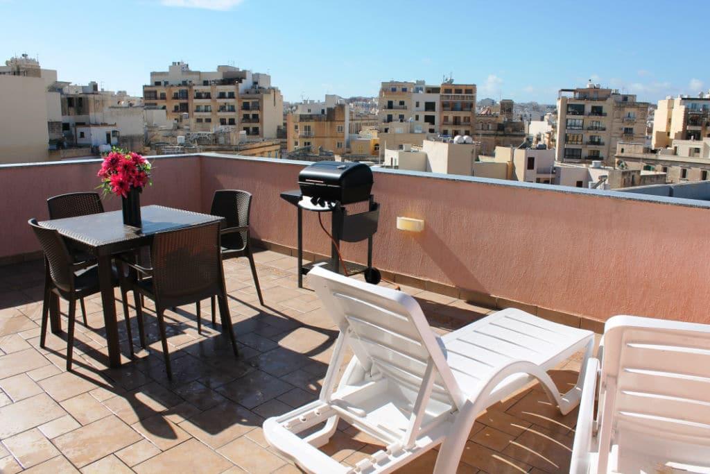Sunny Holiday Penthouse Sliema