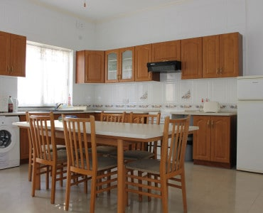 Bright and airy kitchen dining roomBig apartment in St Julian`s close to Paceville nightlife St Julian`s close to Paceville nightlife