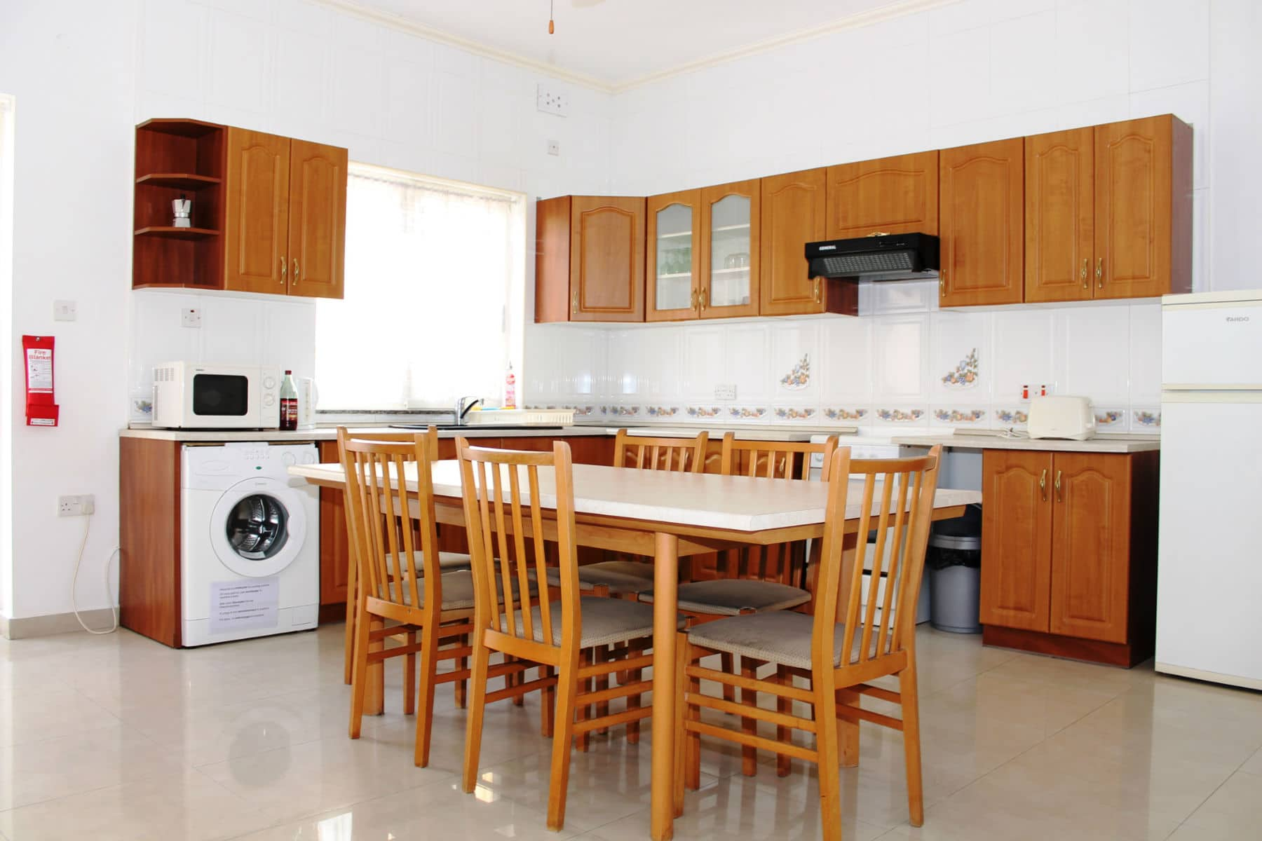 Large kitchen dining room  Big apartment in St Julian`s close to Paceville nightlife area