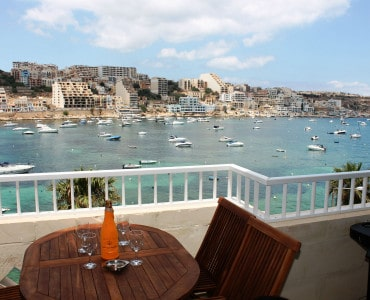 Front Terrace With Breathtaking Seaviews.  Seafront holiday apartment with terrace