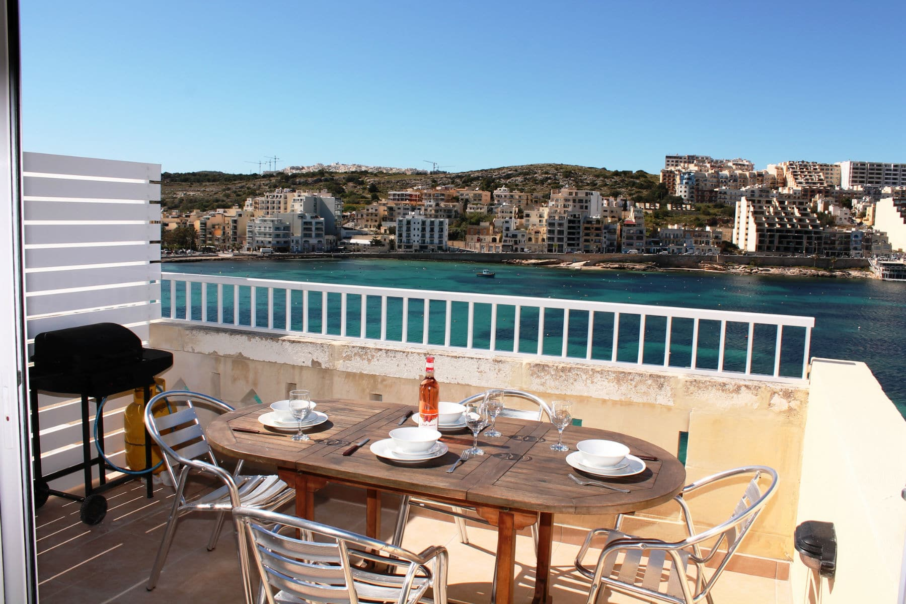 seafront terrace with gas BBQ and garden furniture-w1920-h1200