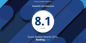 booking.com 2016 guest review awards