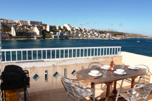 seafront terrace with BBQ and garden furniture and great seaviews-w1920-h1200